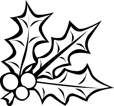 mistletoe coloring page - coloring.com