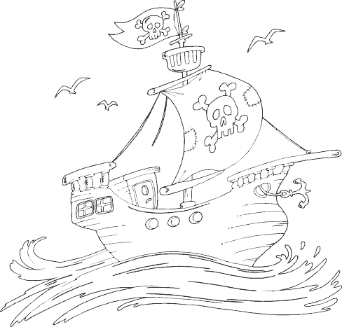 10 best boats and ships coloring pages for your little ones - Sunken Pirate Ship Coloring Pages